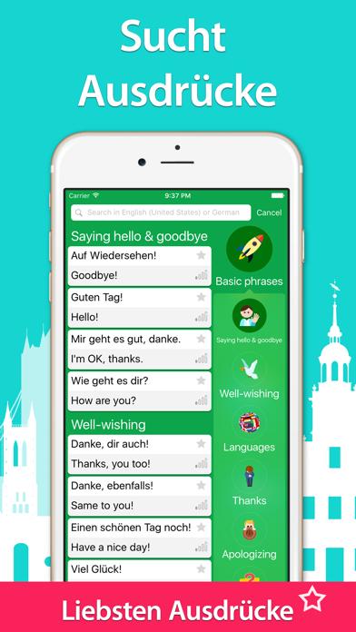 5000 Sätze - Deutsche Sprache Lernen - KostenlosScreenshot von 5