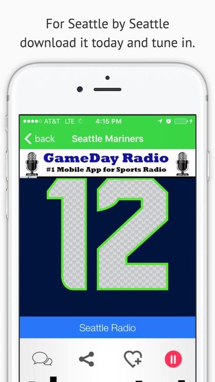 Seattle GameDay Sports Radio – Seahawks and Mariners Edition screenshot-3