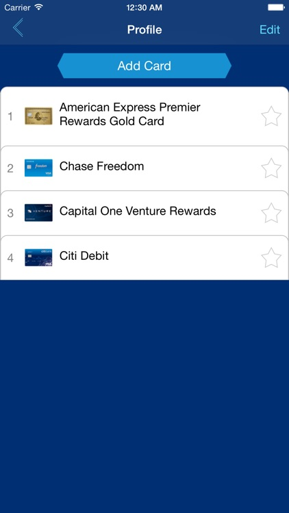 MySwipe- Credit Card Reward Maximization