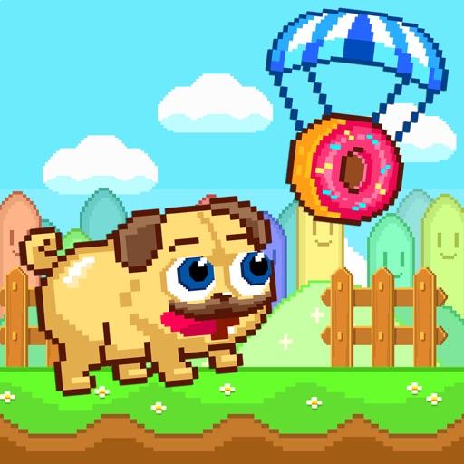 Pugs & Donuts - Crazy Pug Licker & Arcade Shooter FREE