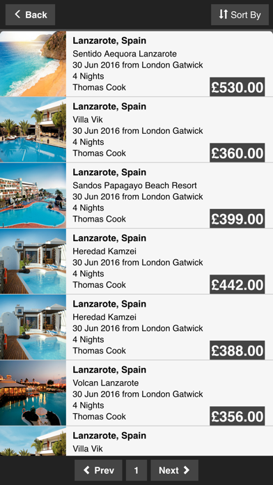 City Breaks Holidays and Boutique Hotels screenshot three
