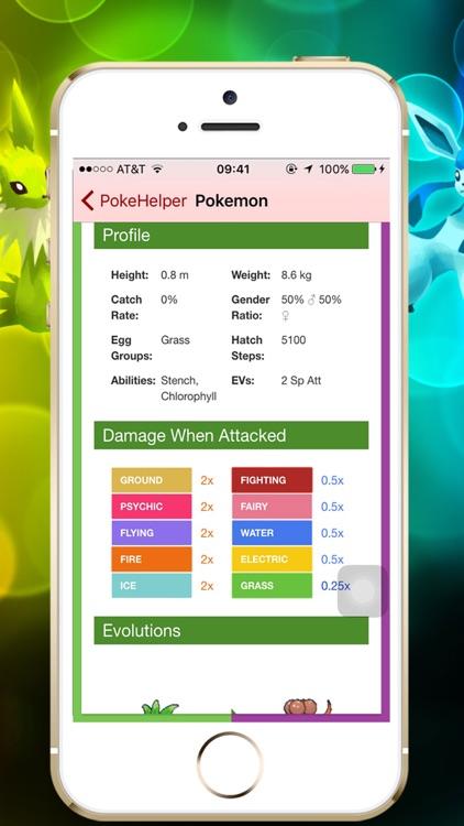 PokeHelp - PokeDex for Pokemon Game screenshot-3