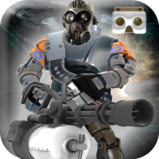 VR Sniper Shooting Game - War against Robots Commandos