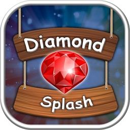 Diamond Splash - Diamond Rush Game of Puzzle Master