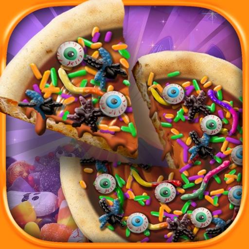 Halloween Candy Pizza Make & Bake - Kids Cooking Dessert Kitchen Boys & Girls Game