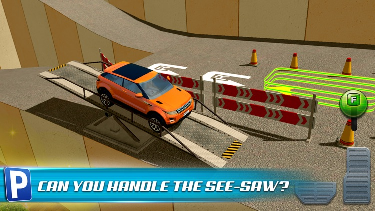 Obstacle Course Extreme Car Parking Simulator screenshot-3
