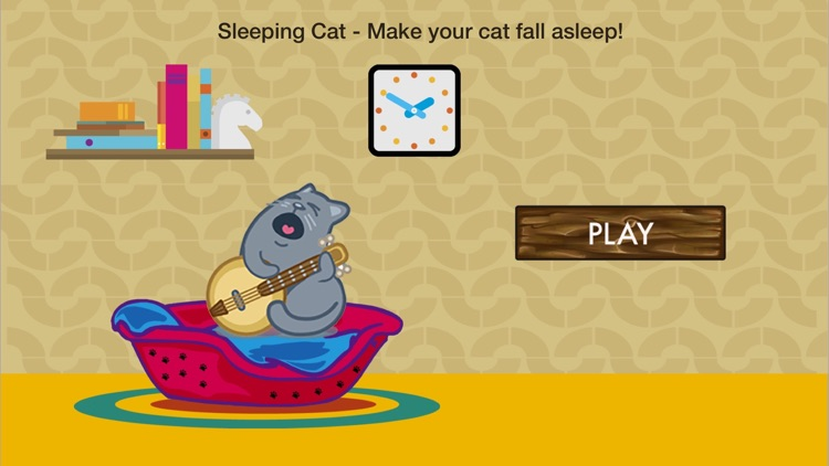 Sleeping Cat - Make your cat fall asleep screenshot-0