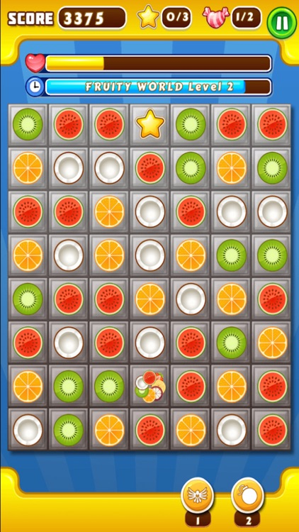 Fruity Word Mission Match 3