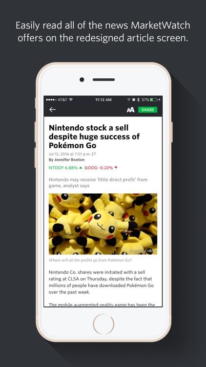 MarketWatch - News & Data
