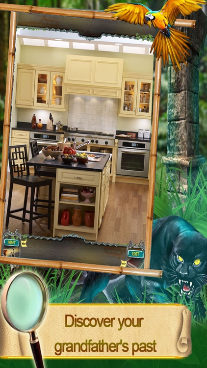 Hidden Object Games Find the lost treasure