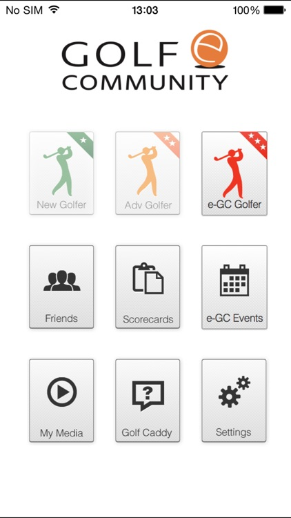 Golf e-Community