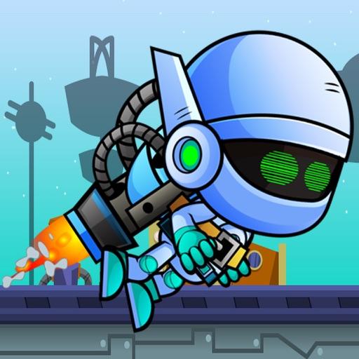 Jetpack Robot Game