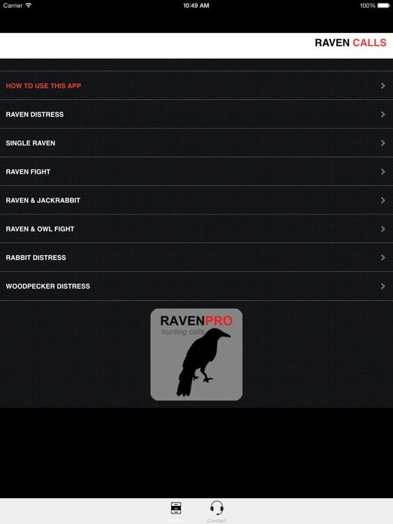REAL Raven Hunting Calls -- 7 REAL Raven CALLS & Raven Sounds! - Raven e-Caller - BLUETOOTH COMPATIBLE