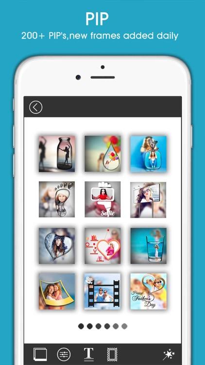 PIP Magic - Selfie Camera App