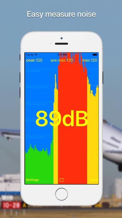dB meter - noise measure Screenshots
