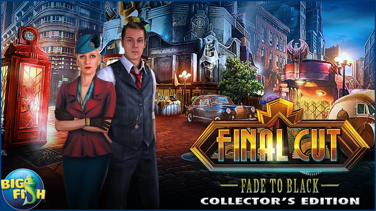 Final Cut: Fade To Black - A Mystery Hidden Object Game (Full) screenshot-4