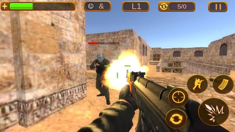 Critical Shooter:Multiplayer sniper gun shooting games screenshot-3