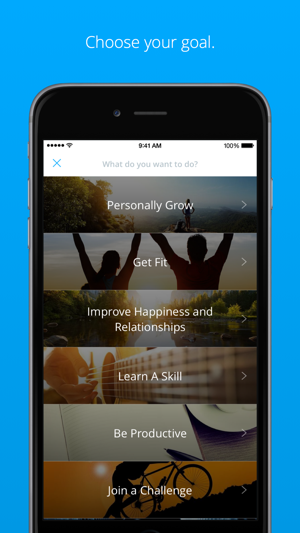 Coach.me - Goal Tracking, Habits & Motivation Screenshot