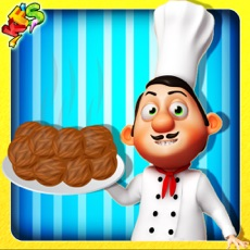 Activities of Meatballs Cooking – Bake cheesy food in this chef game for kids