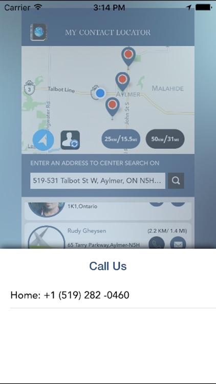 My Contact Locator screenshot-4