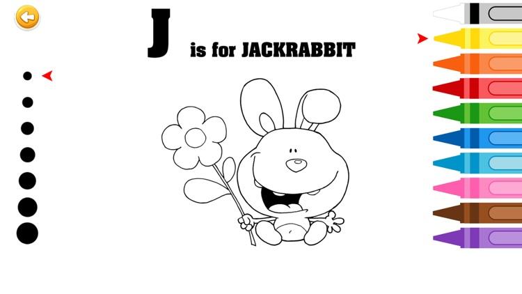 ABC Alphabet Coloring Books For Kindergarten And Preschool Free