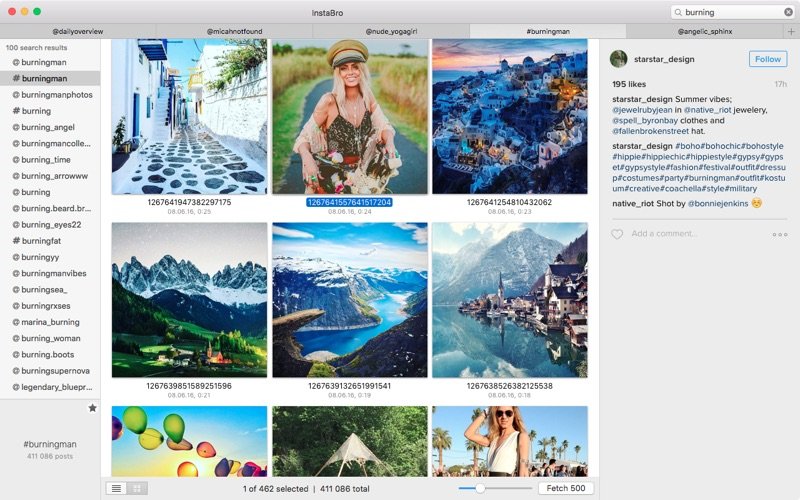 !nstaBro | Browser for Instagram for Mac