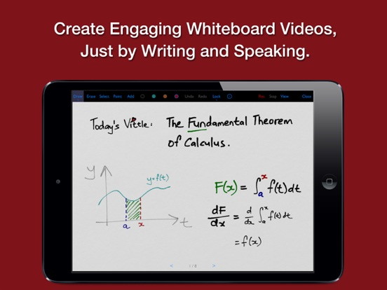 Vittle Pro Video Whiteboard Screenshot