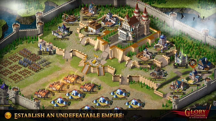 Glory of Conquer: War for Unity screenshot-4