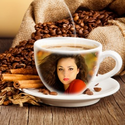 Coffee Cup Photo Frame & Photo Editor