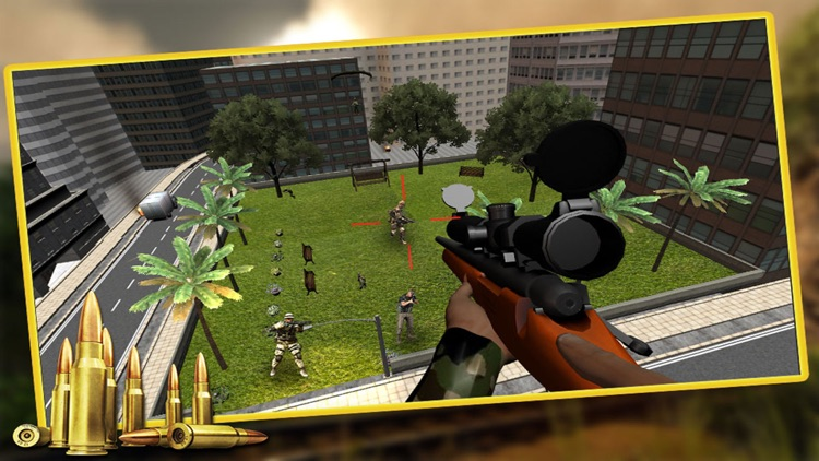 Army Sniper Commando Assassin : Combat Terrorist Shooter screenshot-4