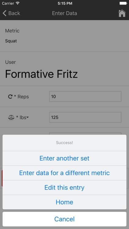 Formative Fitness Tracker screenshot-3