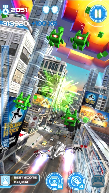 Jet Run: City Defender screenshot-0