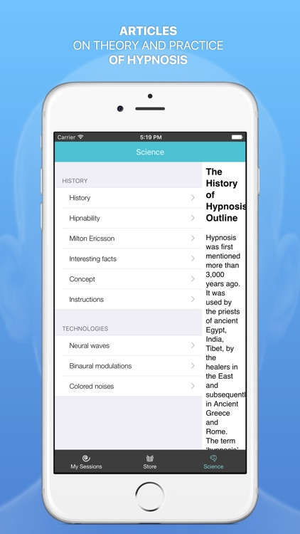 Hypnomatic — mobile hypnosis screenshot-3