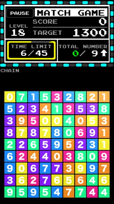 Number Break - popular free match 3 puzzle - screenshot two