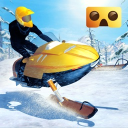Snowmobile Simulator : VR Game for Google Cardboard