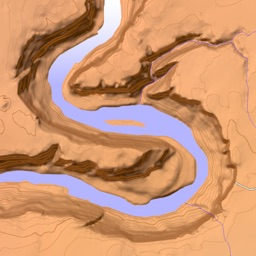 Scenic Map Grand Canyon