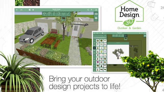 Screenshots - Home Design 3D Outdoor&Garden On The App Store