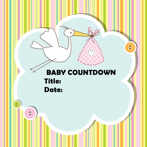 Baby Countdown app