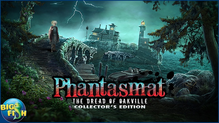 Phantasmat: The Dread of Oakville - A Mystery Hidden Object Game (Full) screenshot-4