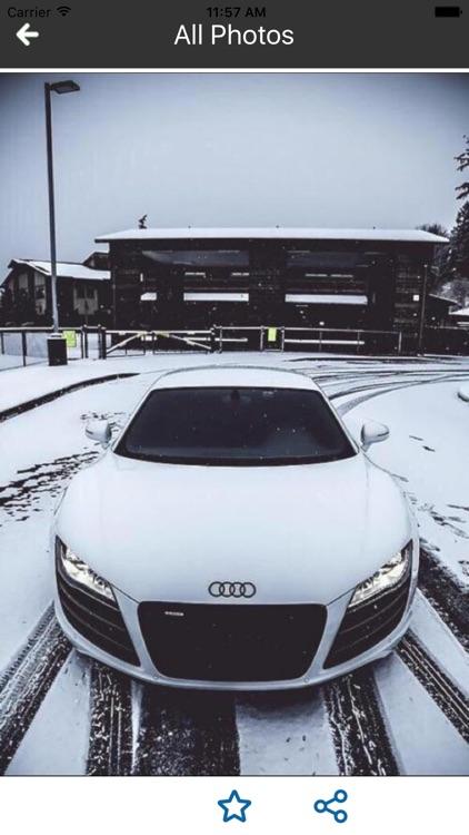 HD Car Wallpapers - Audi R8 Edition screenshot-4