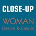 68.Close-Up Woman Denim & Casual