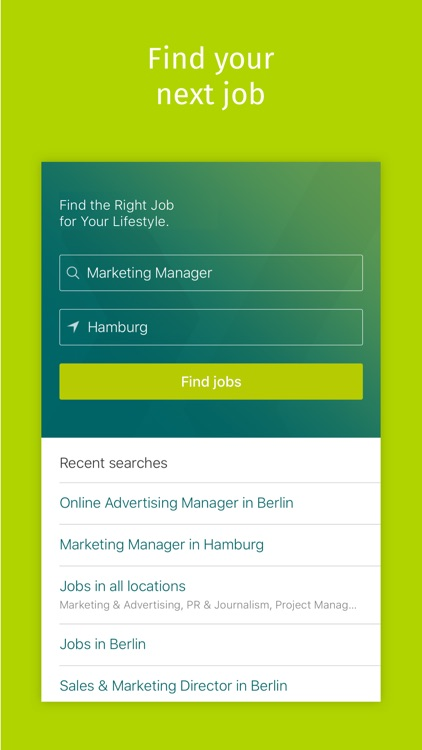 XING Jobs - Find the Right Job for Your Lifestyle