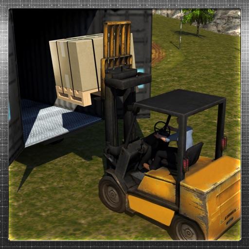 Extreme Cargo Transport Truck Driver & Forklift Crane Operator Game