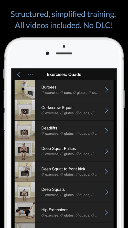 Legs, Thighs & Butt: Women's Home Workout Series screenshot-3