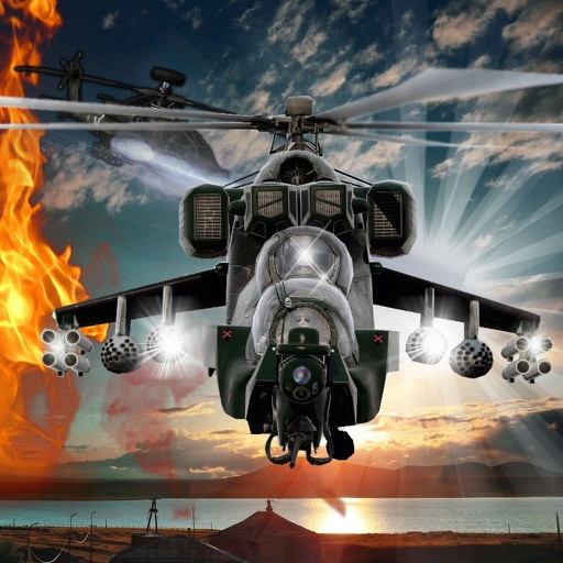 Command Of Fast Helicopters - War Combat Fly