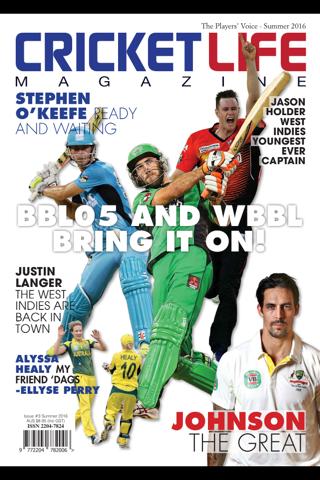 Cricket Life Magazine - náhled
