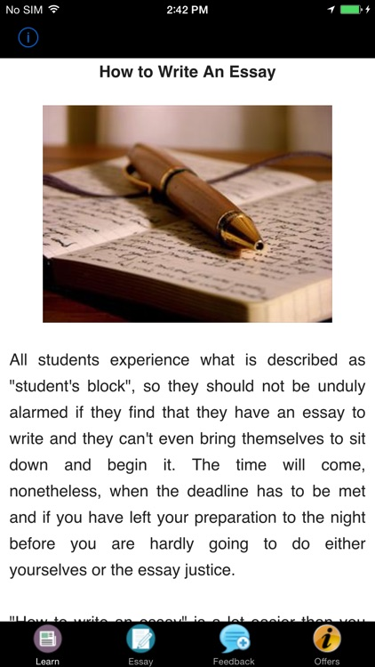 How to Write an Essay - Academic Essay Writing