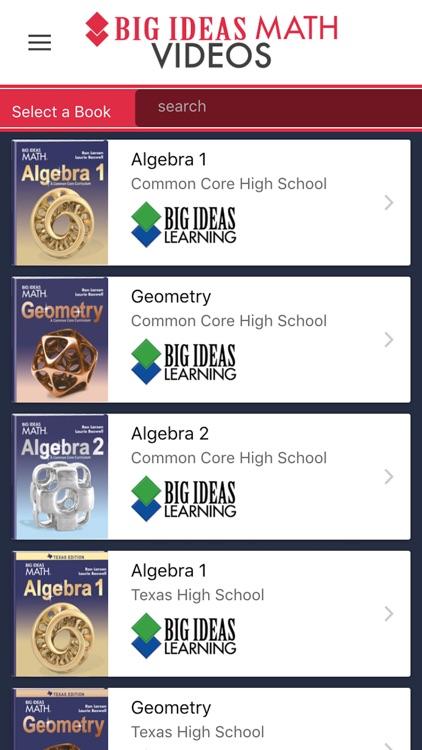 Big Ideas Math Videos