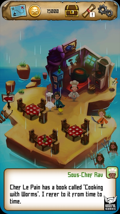 Rule with an Iron Fish: A Pirate Fishing RPG screenshot-3