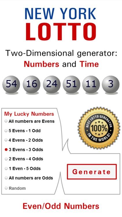 Lotto Winner for New York